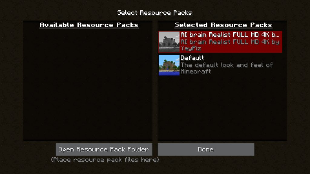 AI Brain Realist resource pack for Minecraft - screenshot 5