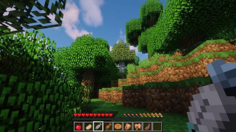 AppleSkin mod for Minecraft - screenshot 3