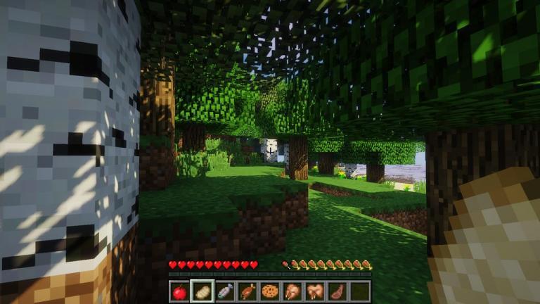 AppleSkin mod for Minecraft - screenshot 4