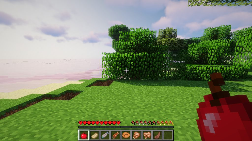 AppleSkin mod for Minecraft - screenshot 5