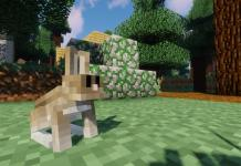 Easter Rabbits mod for Minecraft - screenshot 1