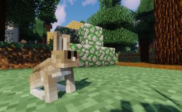 Easter Rabbits mod for Minecraft - screenshot 1