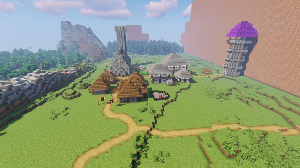 Journey of an Adventurer map for Minecraft - screnshot 5