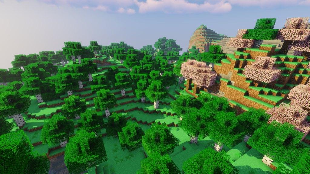 Meseasons Spring Pack for Minecraft - screenshot 1