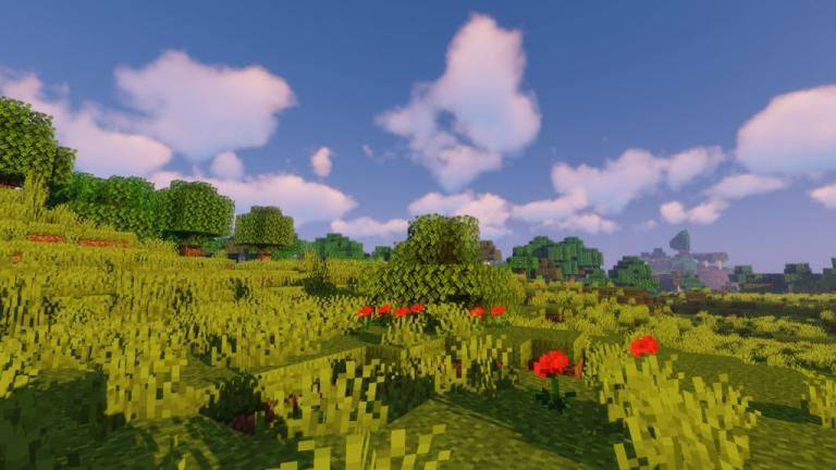 New Default+ resource pack for Minecraft - screenshot 1