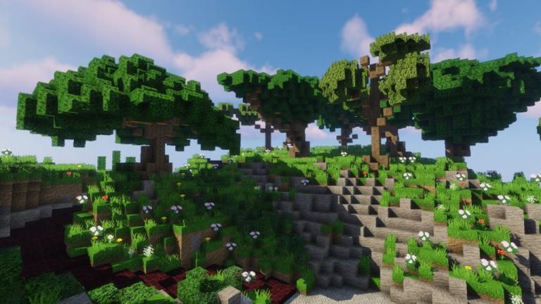 Polychromata resource pack for Minecraft - screenshot 1
