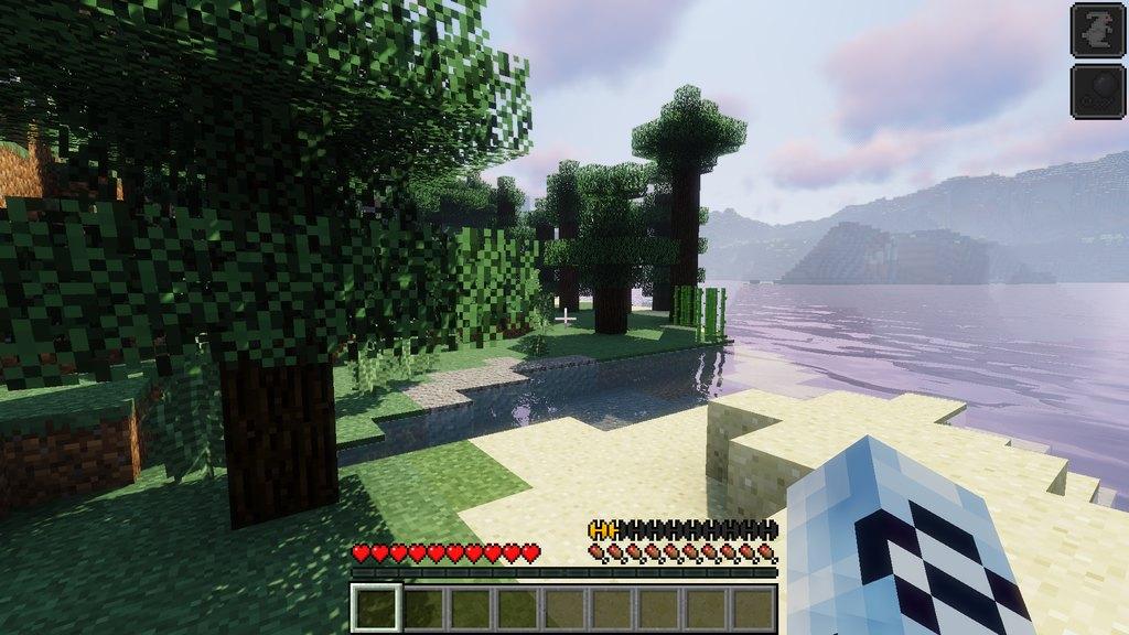 StaminaPlus mod for Minecraft - screenshot 1