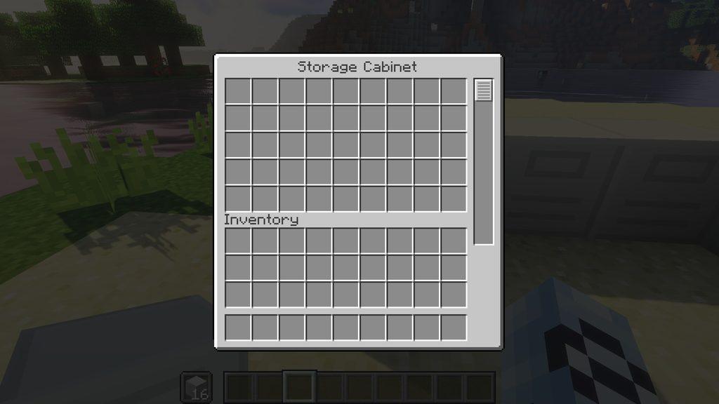 Storage Cabinet mod for Minecraft - screenshot 4