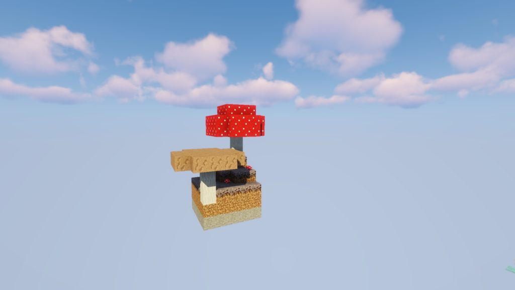Womble's Skyblock map for Minecraft 1 13 2 - great island adventure