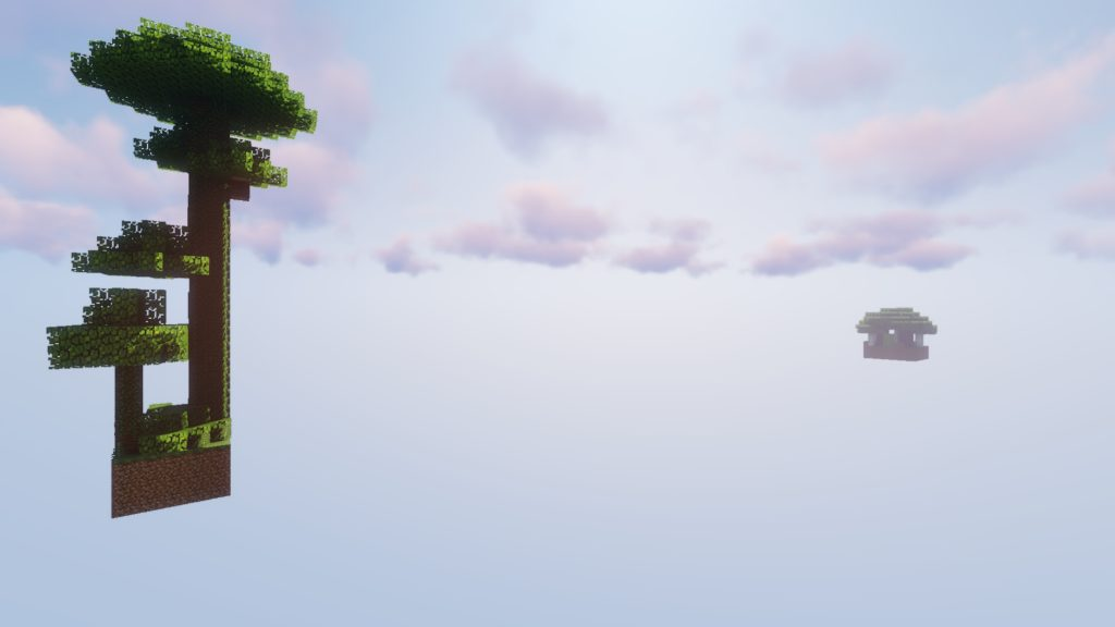 Womble's SkyBlock map for Minecraft - screenshot 1