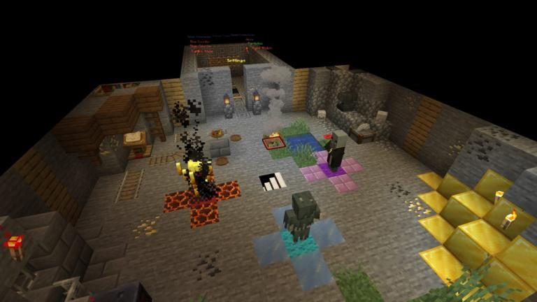 Emerald Chambers map for Minecraft - screenshot 1