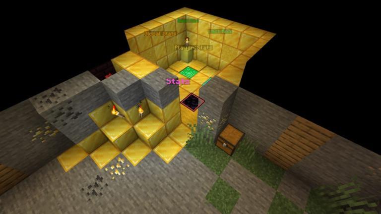 Emerald Chambers map for Minecraft - screenshot 5