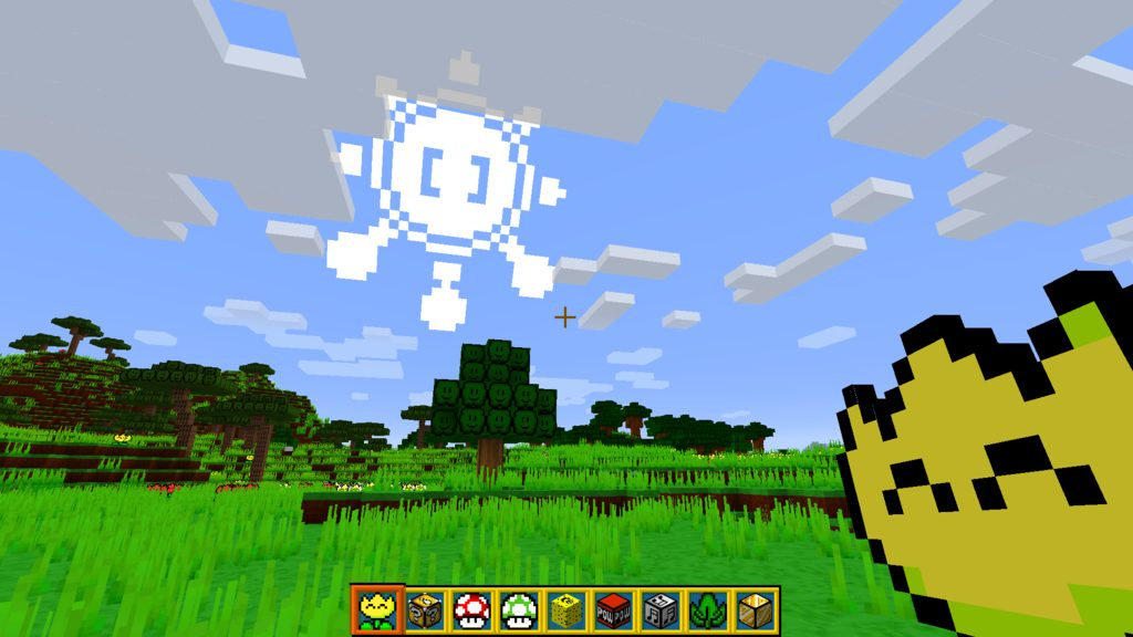MarioCrafting resource pack for Minecraft - screenshot 1
