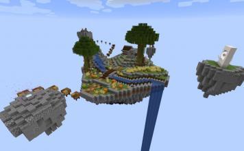 SkyBlock Evo map for Minecraft - screenshot 2