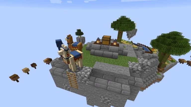SkyBlock Evo map for Minecraft - screenshot 4