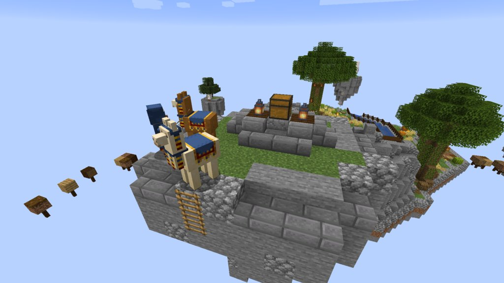 SkyBlock Evo map for Minecraft - screenshot 4