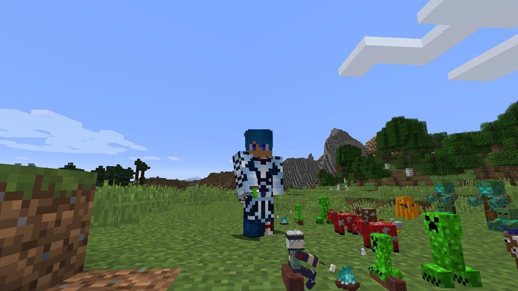 Statues mod for Minecraft - screenshot 3
