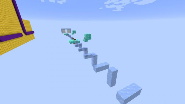 Dynamic Parkour map for Minecraft - screenshot 1