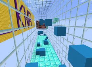Dynamic Parkour map for Minecraft - screenshot 3