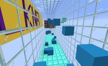 Dynamic Parkour map for Minecraft - screenshot 3