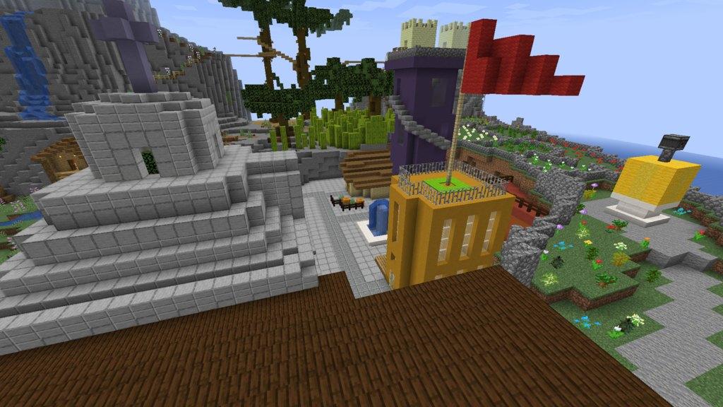 Maze Island map for Minecraft - screenshot 1