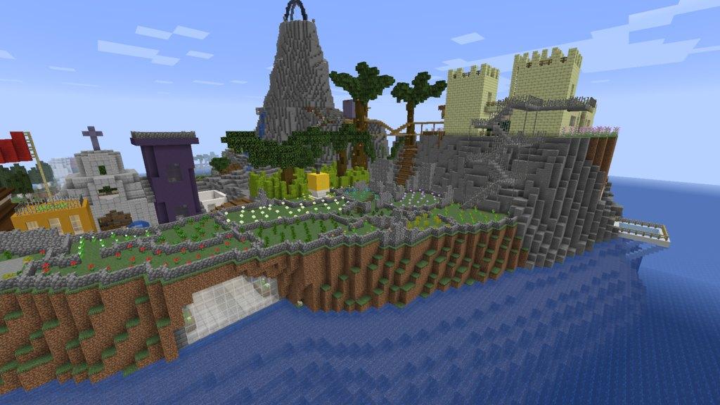 Maze Island map for Minecraft - screenshot 3