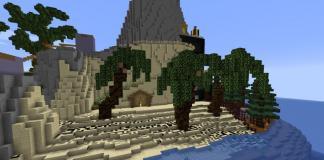 Maze Island map for Minecraft - screenshot 5