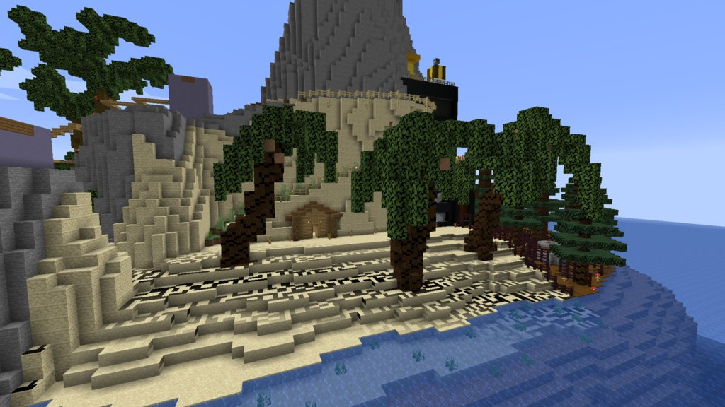 Maze Island map for Minecraft - screenshot 5