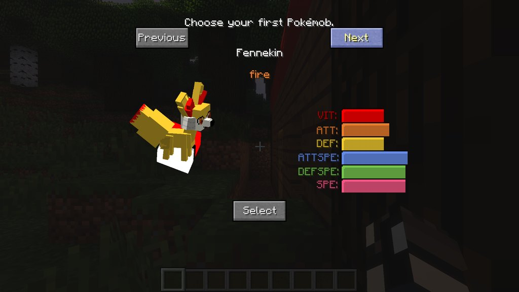Pokecube AIO mod for Minecraft - screenshot 2