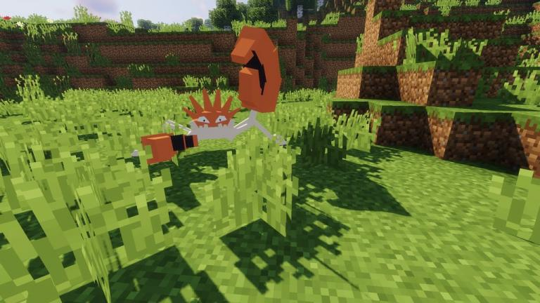 Pokecube Unit resource pack for Minecraft - screenshot 2