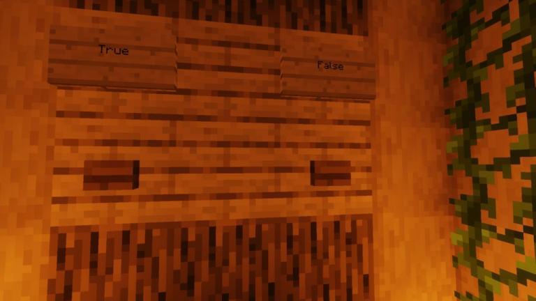 100 Question Quiz map for Minecraft - screenshot 2