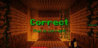 100 Question Quiz map for Minecraft - screenshot 4