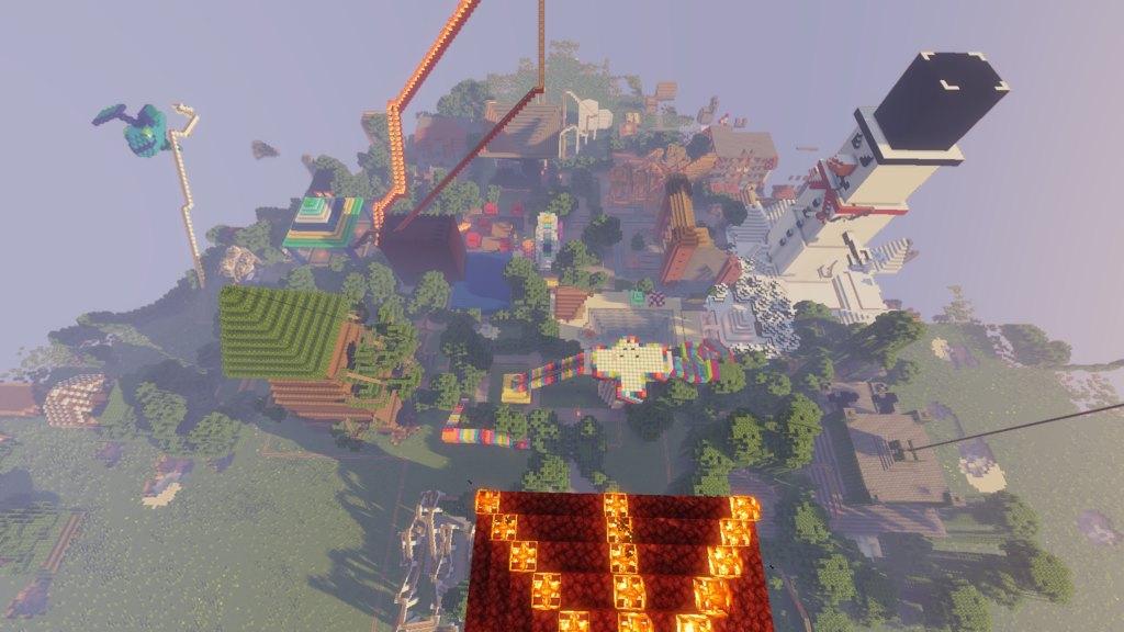 Amusement Land map for Minecraft - screenshot 1