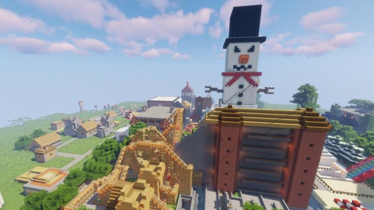 Amusement Land map for Minecraft - screenshot 2