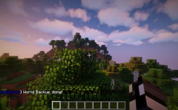 AromaBackup mod for Minecraft - screenshot 2