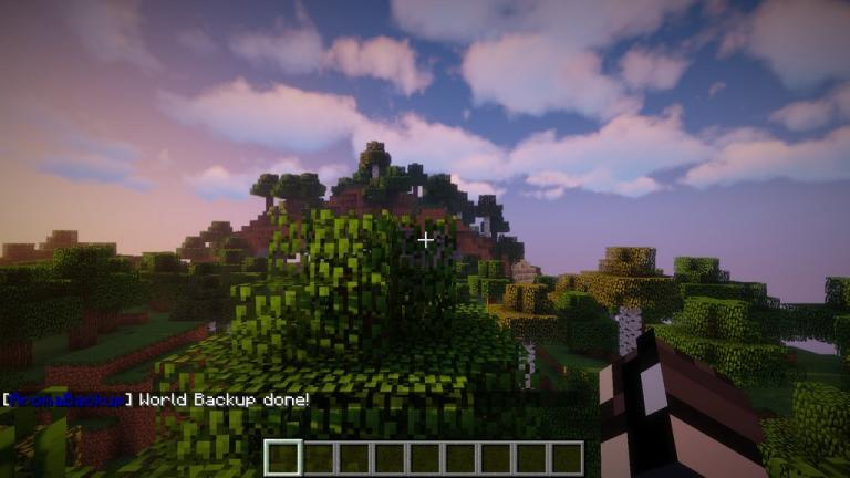 AromaBackup mod for Minecraft - screenshot 2