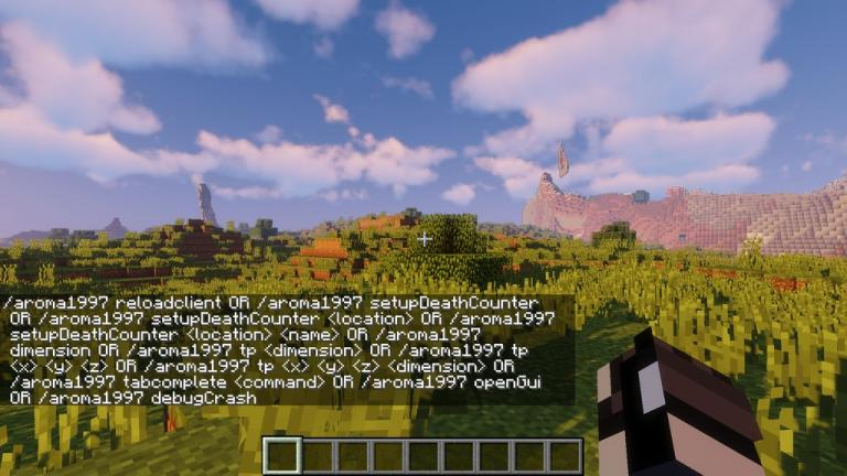 AromaBackup mod for Minecraft - screenshot 3