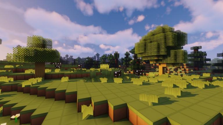 BlueBlockCraft Vanilla resource pack for Minecraft - screenshot 2