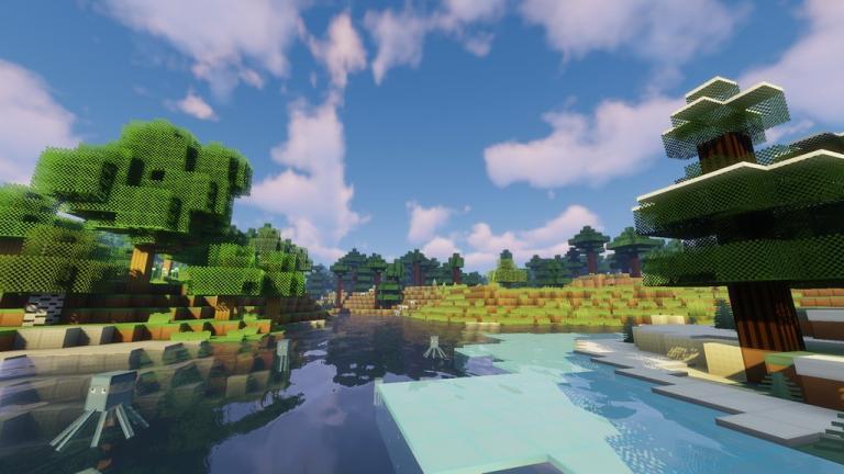 BlueBlockCraft Vanilla resource pack for Minecraft - screenshot 4