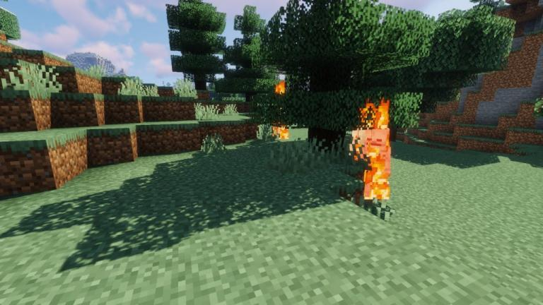 Dragos Creepy Mobs resource pack for Minecraft - screenshot 2
