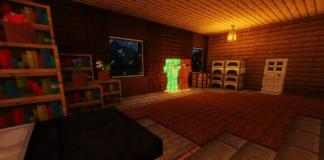 Escape the Mansion map for Minecraft - screenshot 1