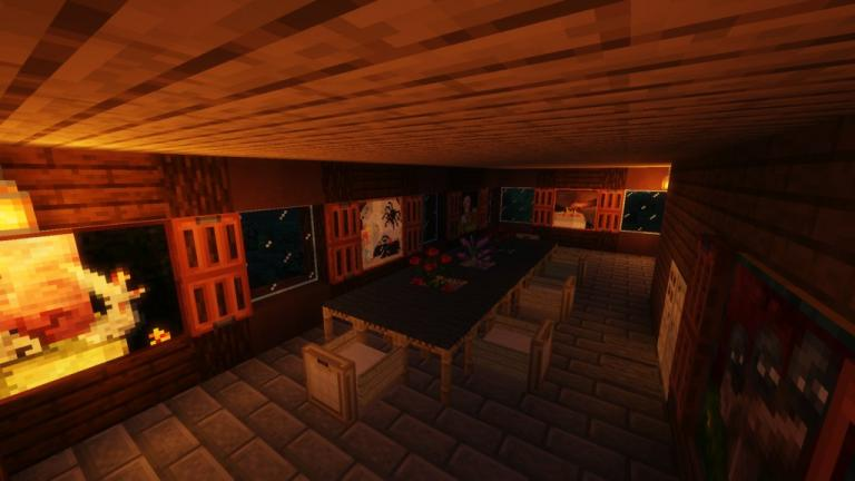 Escape the Mansion map for Minecraft - screenshot 3