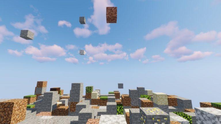 Falling Falling map for Minecraft - screenshot 3
