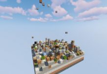 Falling Falling map for Minecraft - screenshot 5
