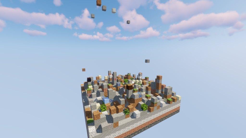 Falling Falling map for Minecraft - screenshot 5