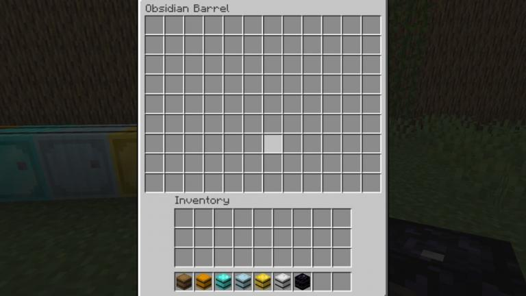 Metal Barrels mod for Minecraft - screenshot 3