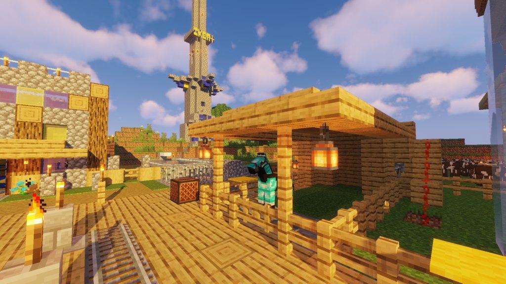 Pewdiepies World Recreation Map For Minecraft 1144