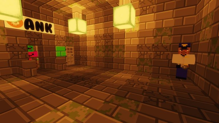 Stuck in a Prison map for Minecraft - screenshot 1