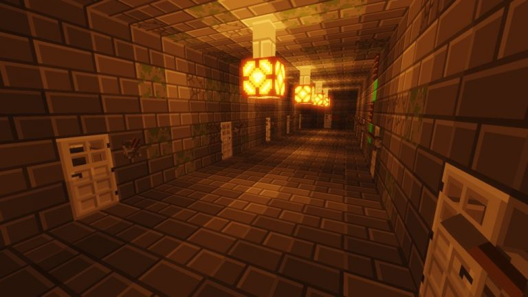 Stuck in a Prison map for Minecraft - screenshot 4