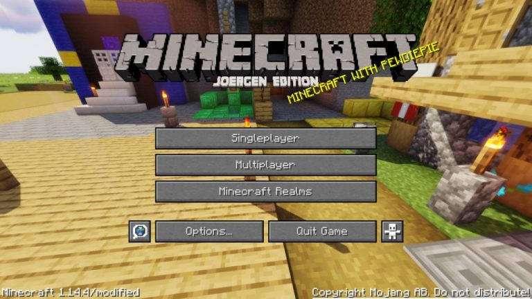 The PewDiePack resource pack for Minecraft - screenshot 5